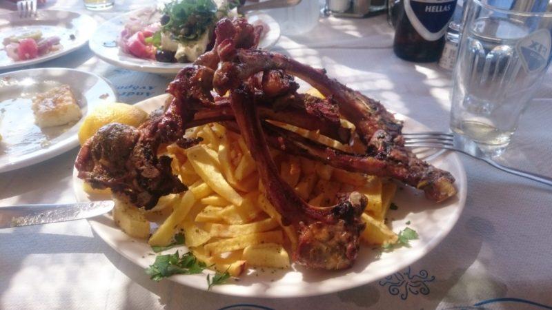 Ag Marina Taverna pirzola