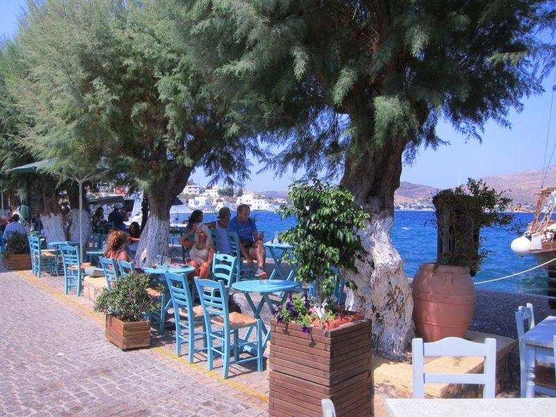 Agia Marina Leros kafeterya