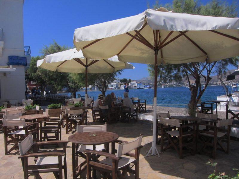 Agia Marina kafeteryalar