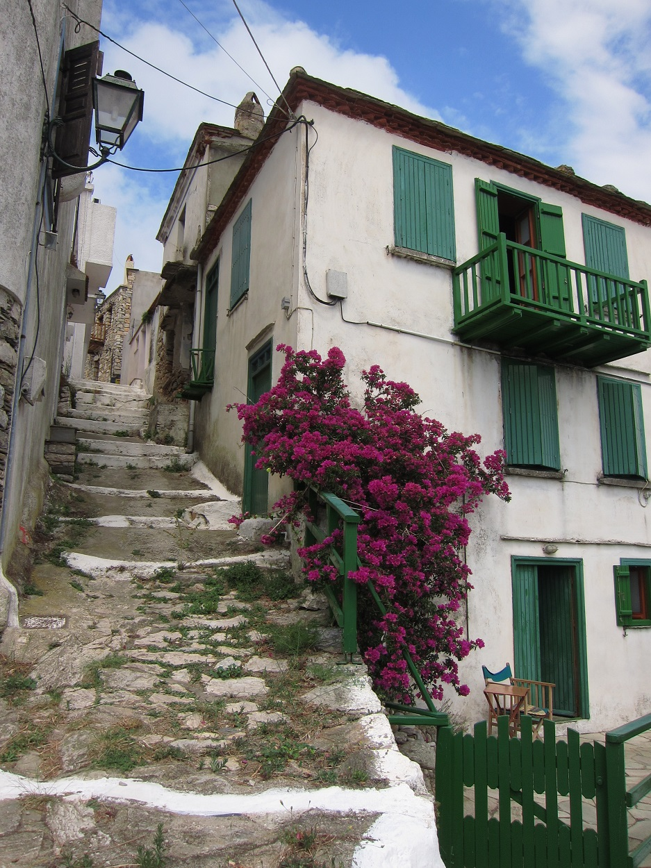 Alonissos Chora evleri
