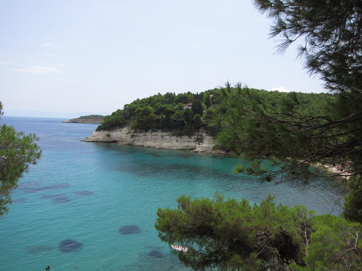 Alonnisos adası