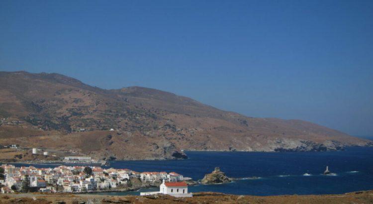 Andros adası Hora