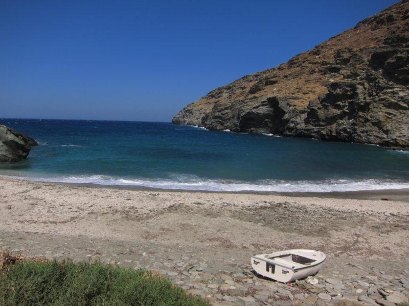 Andros adası Sineti plajı