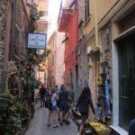Corniglia ara sokakları,dükkanlar