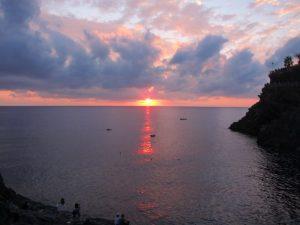 Manarola günbatımı