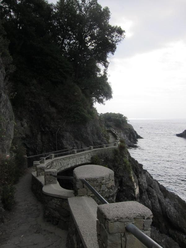 Cinqueterre Monterosso Vernazza yuruyus
