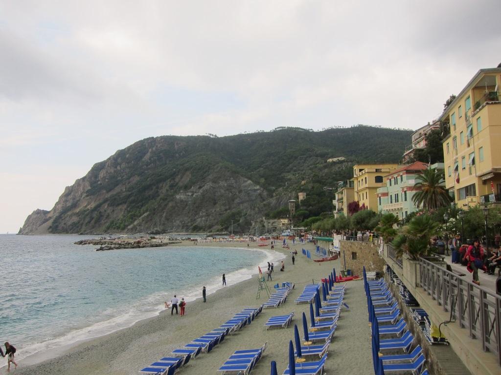 Monterosso sahil