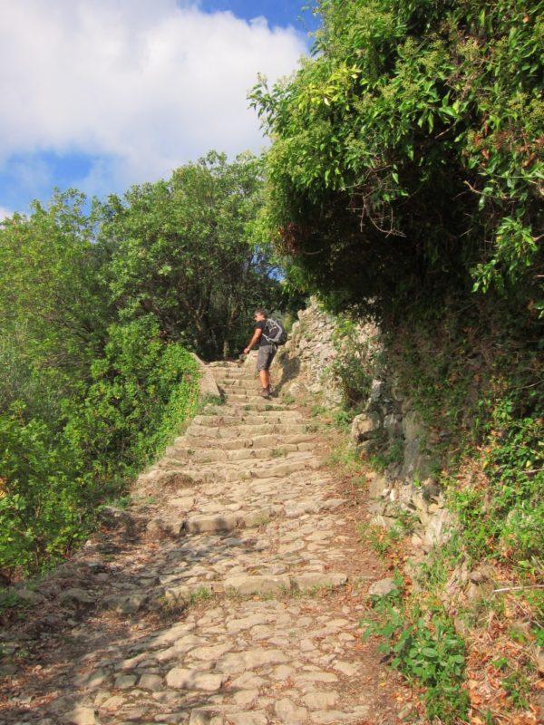 Corniglia-Manarola ilk tırmanış