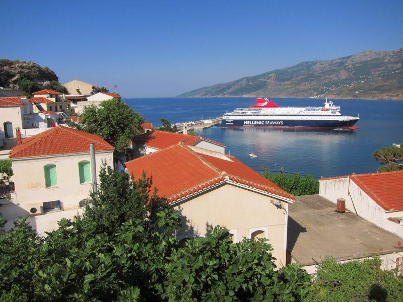 Evdilos liman