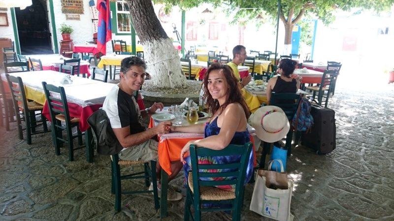 Hydra adası Elia Douskos Taverna