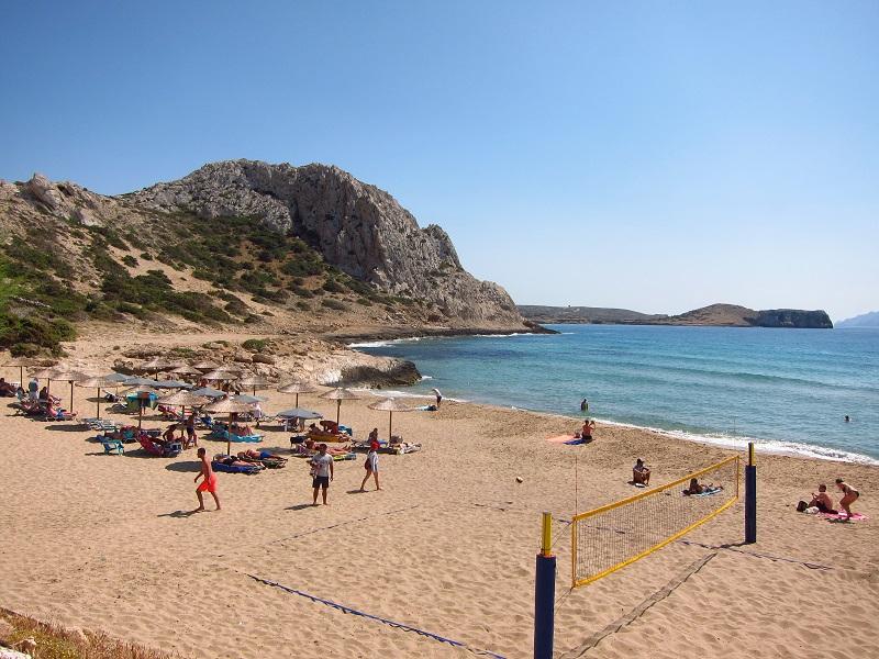 Karpathos arkasa plajı