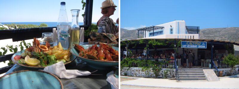 Karpathos adası calypso taverna