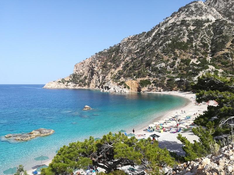 Karpathos apella plajı