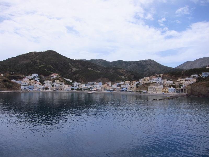 Karpathos Diafani limanı