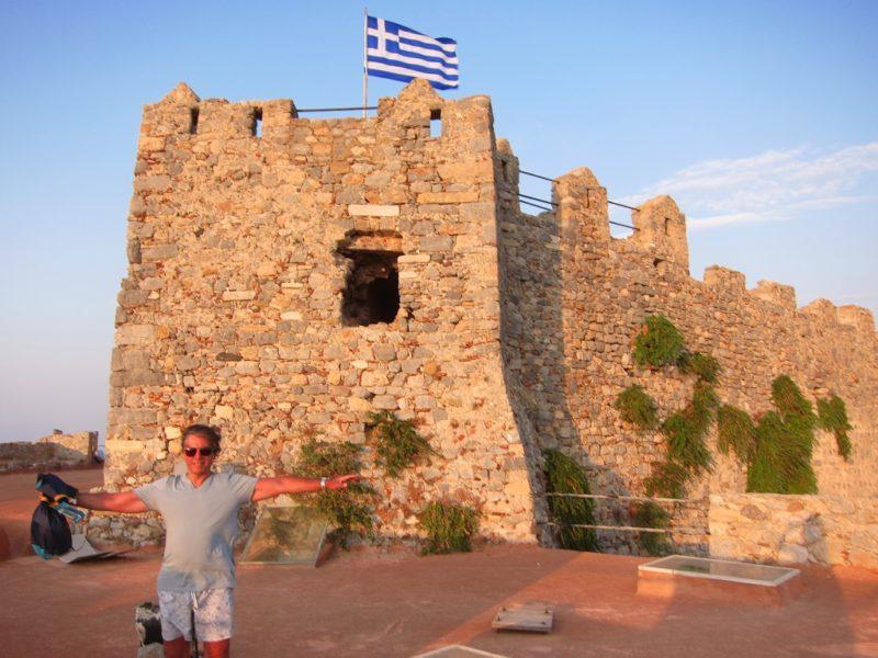 Leros Bizans kalesi