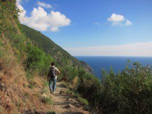 Levanto-Monterosso, yolun yarısı