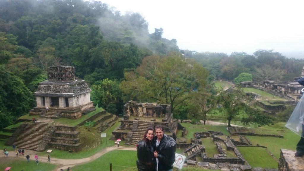 Meksika Palenque yağmur ormanları