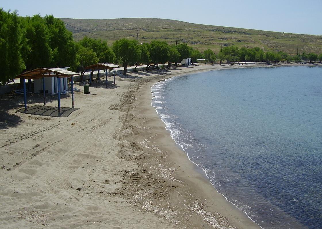 Midilli adası sigri plajı