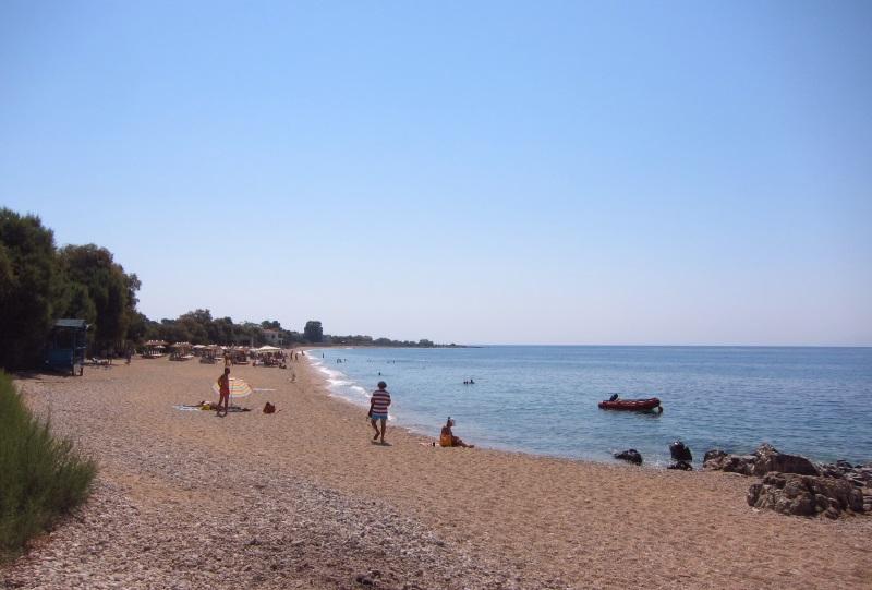 Midilli plomari plaj