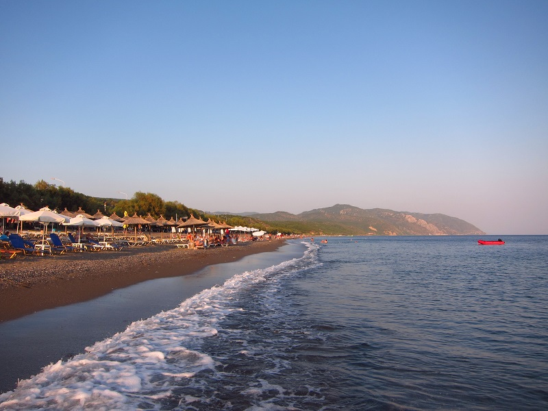 Midilli vatera plajı