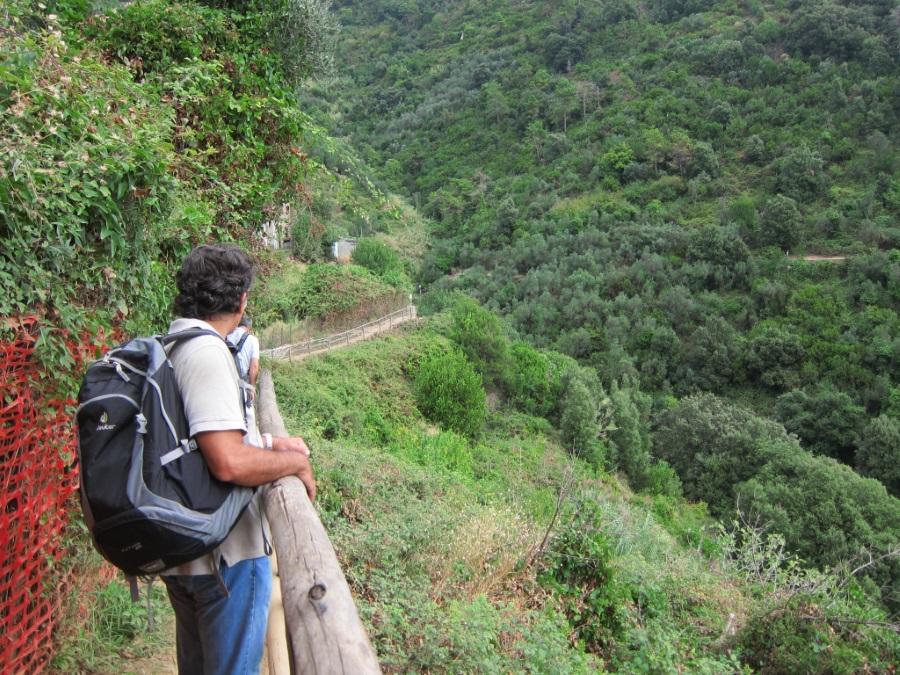 Monterosso Vernazza trekking yolu