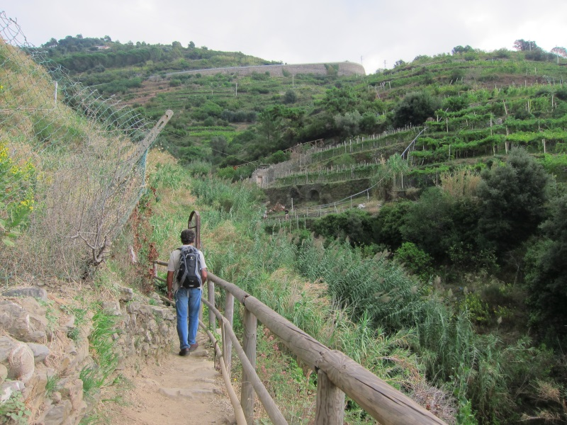 Monterosso-Vernazza yürüyüş yolu