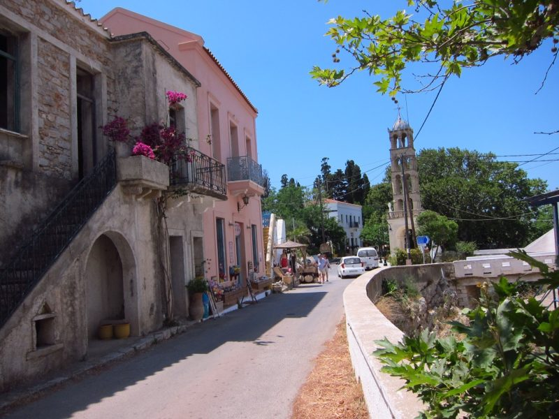 Kythira Mylopotamos köy ici