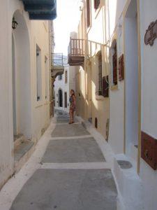 Nisyros Nikia sokakları