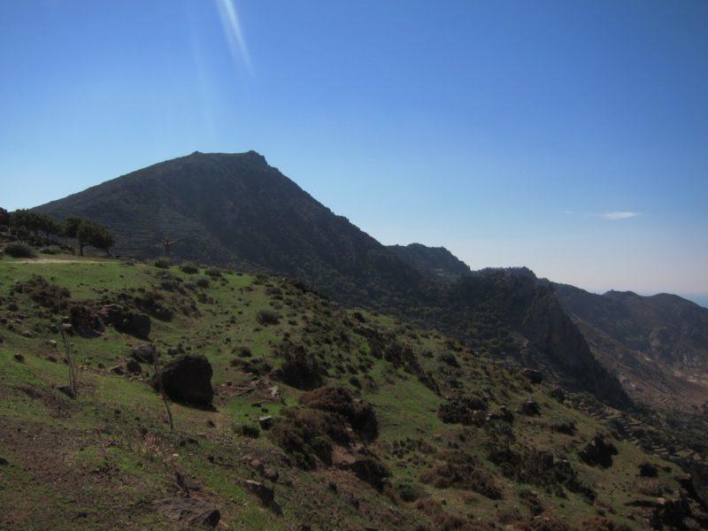 Nisyros dağlar