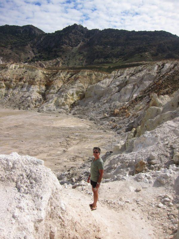Kratere iniş yolu