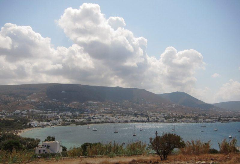 Paros Paradise otel Parikia manzarası