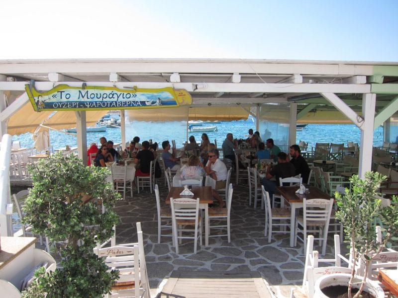 Paros Aliki Mouragio Taverna