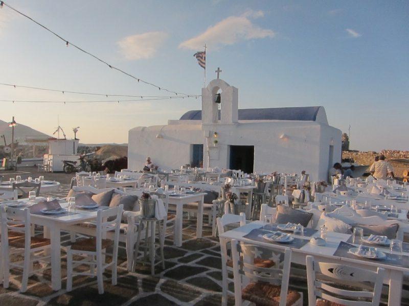 Paros Naousa limanda taverna