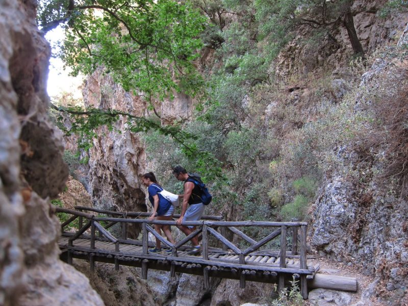 Patsos Boğazı ahşap köprü