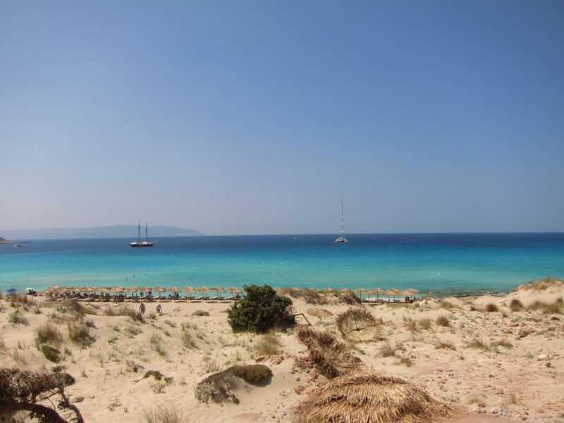 Elafonisos Adası Plaj