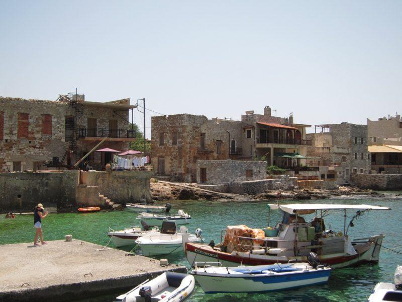 Gerolimani balıkçı köyü