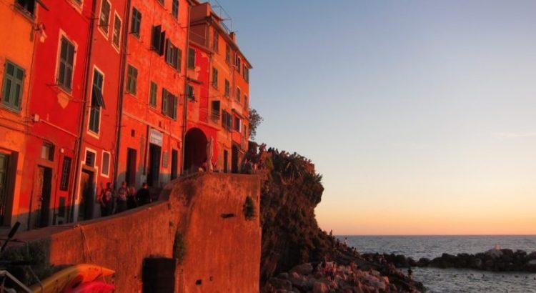 Riomaggiore günbatımı