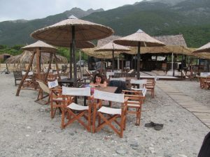 Samothraki Saoki beach bar