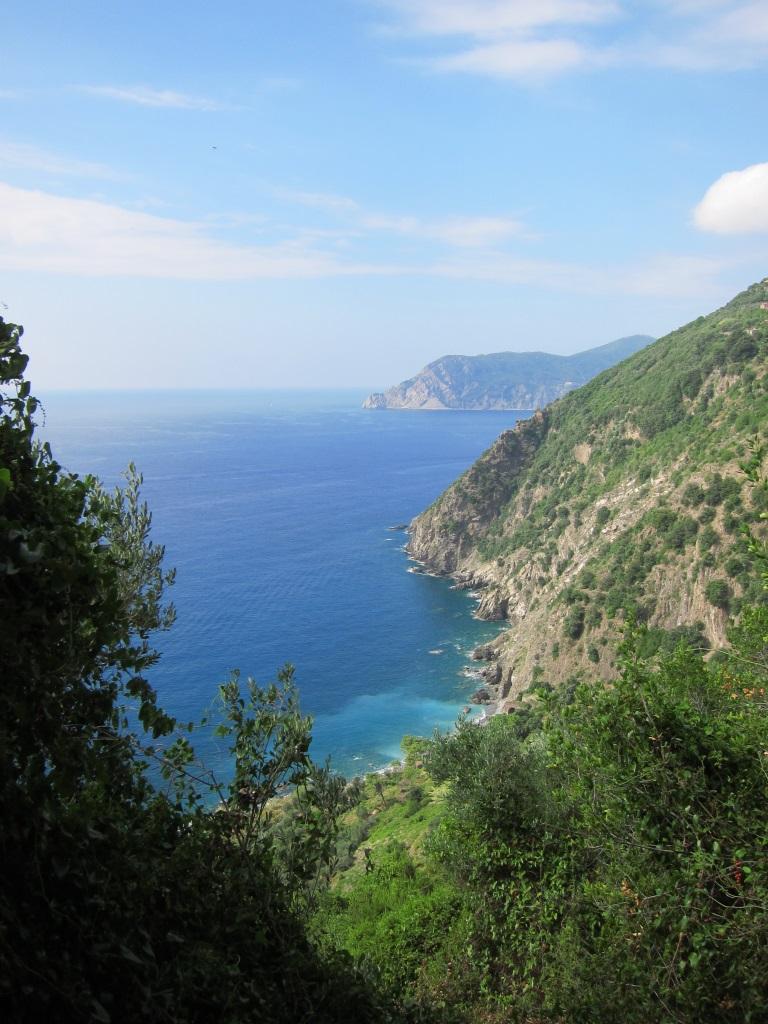Sentiero Azzuro manzara