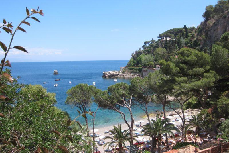 Taormina sahili