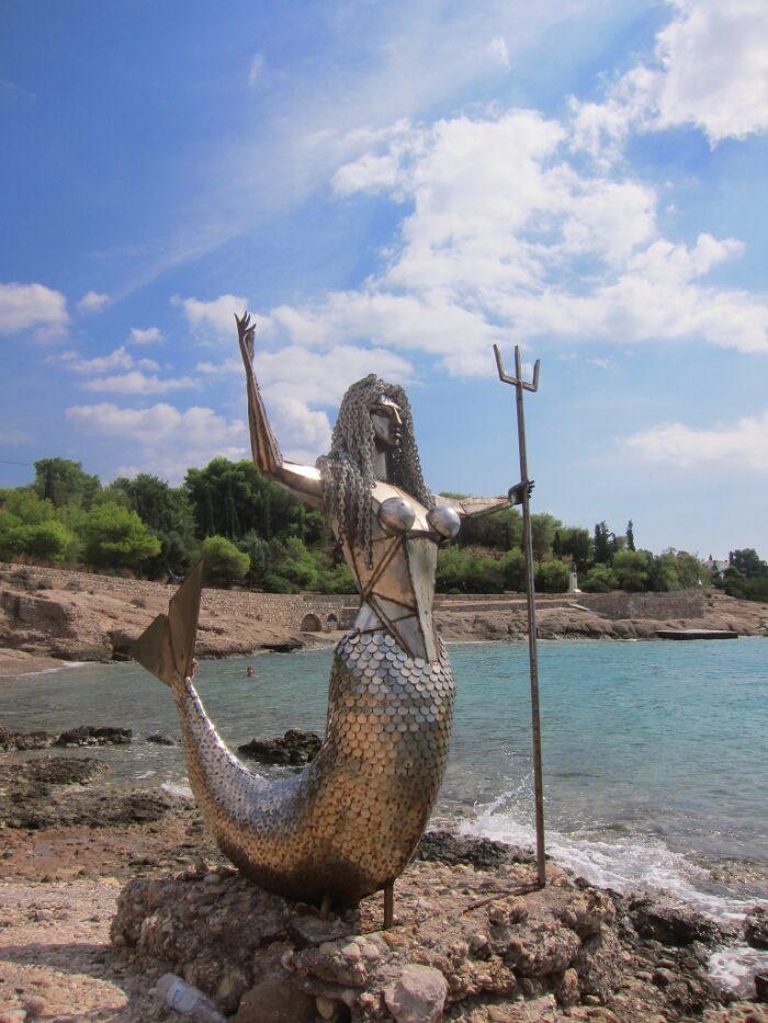 Spetses Natalia Mela heykel