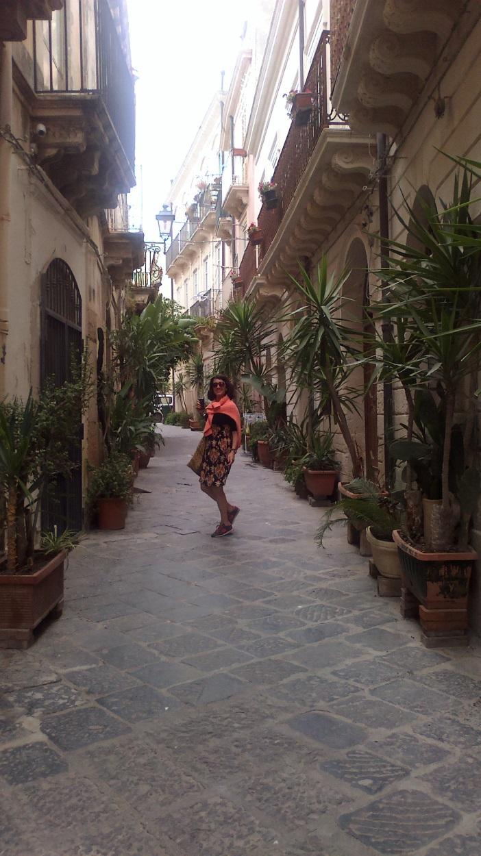 Ortigia sokaklar