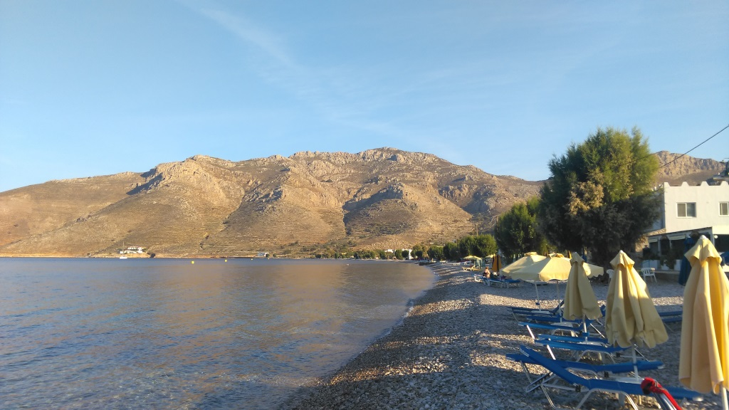 Livadia çakıl taşlı plaj