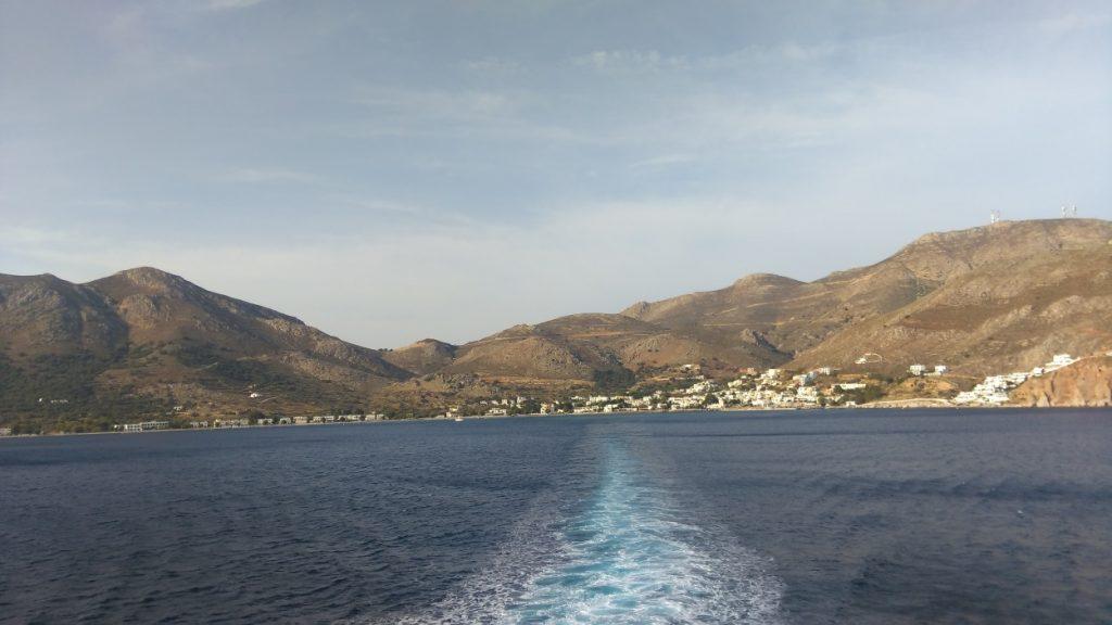 Tilos Adası gemiden