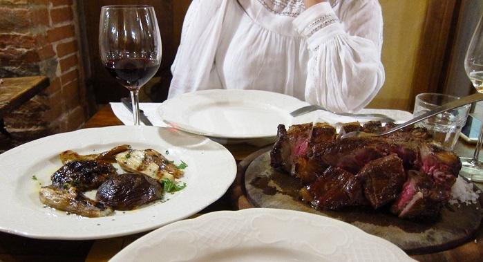Toscana bistecca fiorentina