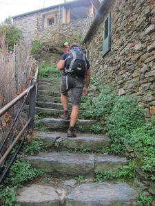 Vernazza-Corniglia yolu başlangıç