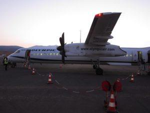 Atina-Paros uçak