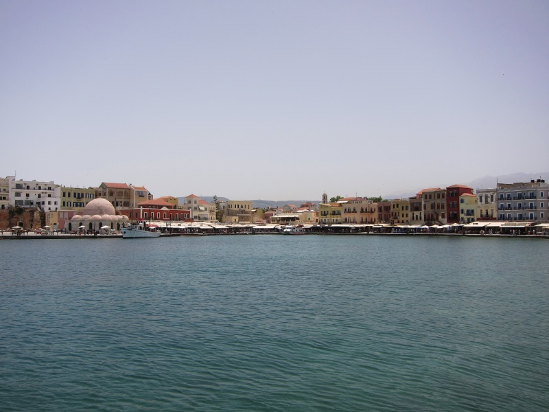 Venedik limanı iç kısım Chania