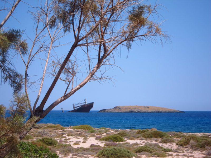 Kythira adası diakofti batik gemi