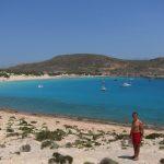 Elafonisos Simos güney kıyısı